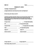 Financial Literacy - Interest Assignment (Mathematics)