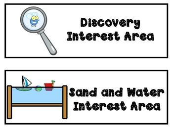 Interest Center Signs