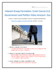 Interest Group Formation: Crash Course U.S. Government and