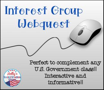 Interest Group Webquest