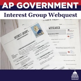 Interest Group and PAC Websearch | AP Government