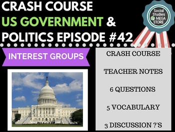 Interest Groups: Crash Course Government and Politics #42