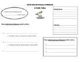 Interest Groups, Individuals, and Public Policy note page