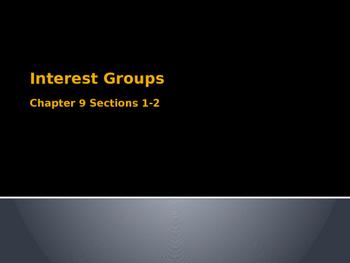Interest Groups Lesson