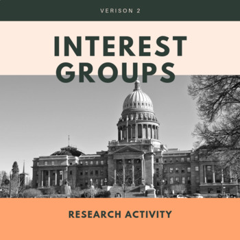 Interest Groups Research Activity Version 2