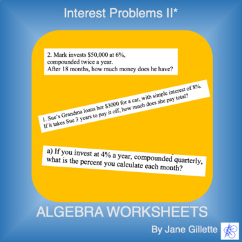 Interest Problems II*