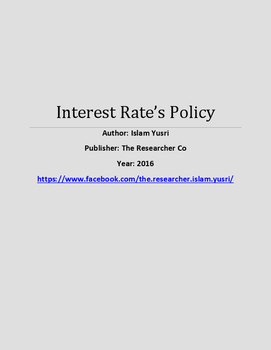 Interest Rate's Policy