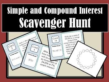 Interest Scavenger Hunt