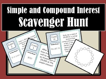 Interest Scavenger Hunt