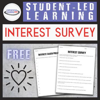 Interest Survey {Printable and Digital Option}