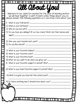 Interest Surveys for Elementary Students