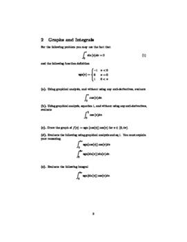 Interesting Calculus Problems 1