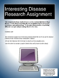 Interesting Disease Research Assignment