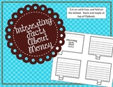 Interesting Facts - Money Interactive Notebook Piece
