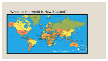 Interesting Facts about New Zealand for younger children
