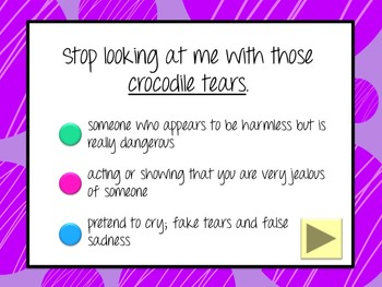 Interesting Idioms #1