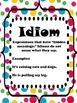 Interesting Idioms Literacy Skill Practice