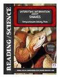 Interesting Information about Snakes Reading Comprehension