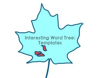 Interesting Word Tree Template