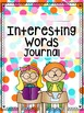 Interesting Words Journal
