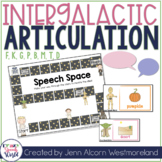 Outer Space Articulation for Speech Therapy:  /f, k, g, p, b, m, t, d/