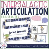 Outer Space Articulation for Speech Therapy:  /r, s, l, ch, sh, j, th/