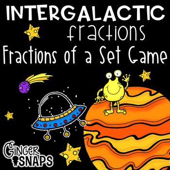 Intergalactic Fractions of a Set game