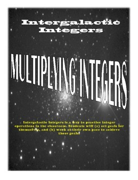 Intergalactic Integers - Multiplying Integers