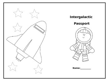 Intergalactic Passport: Solar System Research Project