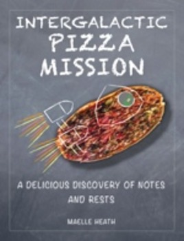 Intergalactic Pizza Mission Pizza Cut Out