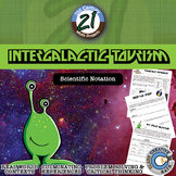 Intergalactic Tourism -- Scientific Notation - 21st Century Math Project