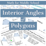 Interior Angles of Polygons with GOOGLE form for distance learning