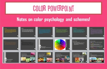 Interior Design Color Schemes PowerPoint