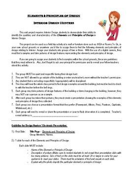 Interior Design Hunters _ Elements & Principles of Design