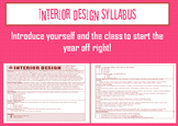 Interior Design Syllabus