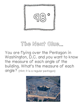 Angles of Polygons - Scavenger Hunt