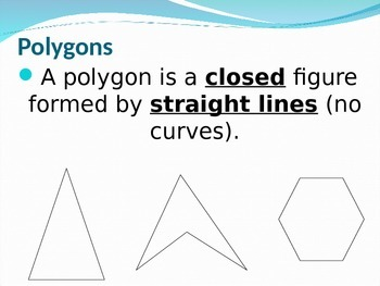 Interior and Exterior Angle Sum of Polygons Powerpoint