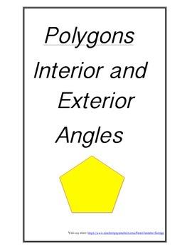 Interior and Exterior Angles POD
