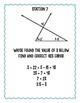 Interior and Exterior Angles in Triangles Error Analysis Stations