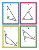 Interior and Exterior Angles in Triangles Task Card Bingo