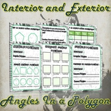 Interior and Exterior Angles in a Polygon Investigation