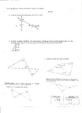 Interior and Exterior Angles of Triangles