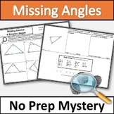 Interior and Exterior Angles of a Triangle Activity - No P