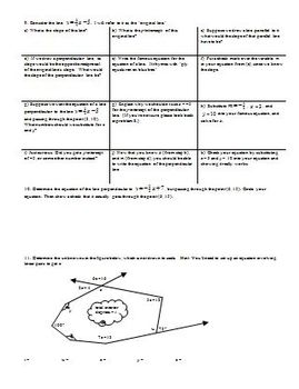 Interior and Exterior Angles/Parallel and Perpendicular Lines Fall 2013-Editable