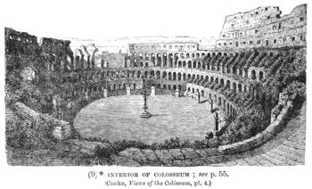 Interior of the Colosseum / Coliseum