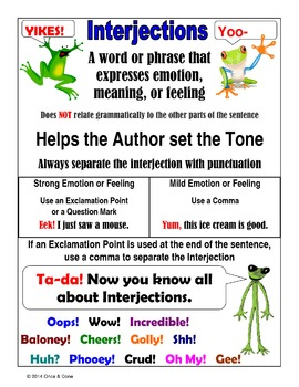 Interjections and the Emotion They Add Activity