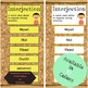 Interjection Wall | Parts of Speech Posters | Grammar Posters |  Interjections