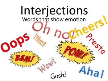 Interjections Video and Kit