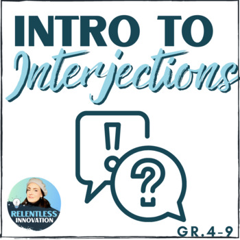 Interjections Introductory Handout