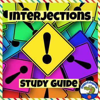 Interjections Study Guide with Practice Exercises